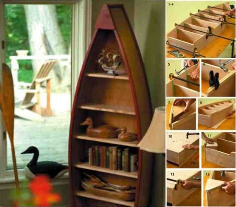 Bookcase Idea by How To Make A Boat Book Shelf Do It Yourself Fun Ideas