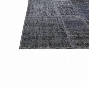 Teppich Grau Blau : grau blau vintage patchwork flicken teppich 203x300cm ~ Indierocktalk.com Haus und Dekorationen