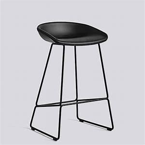 Tabouret De Bar Tissu : tabouret de bar about a stool aas39 acier et tissu hay ~ Teatrodelosmanantiales.com Idées de Décoration