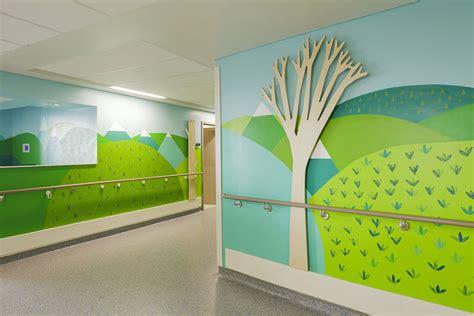 designers  artists decorate childrens hospital