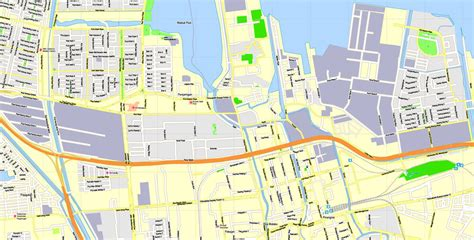 jakarta indonesia printable exact vector map  view