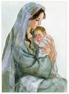 Baby Jesus And Mary For Christmas | www.imgkid.com - The ...
