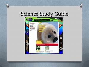 Science Study Guide Chapter 1