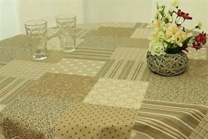 Abwaschbare Tischdecke Rund : abwaschbare tischdecke natur karo trend ab 80 cm 138 ~ Michelbontemps.com Haus und Dekorationen