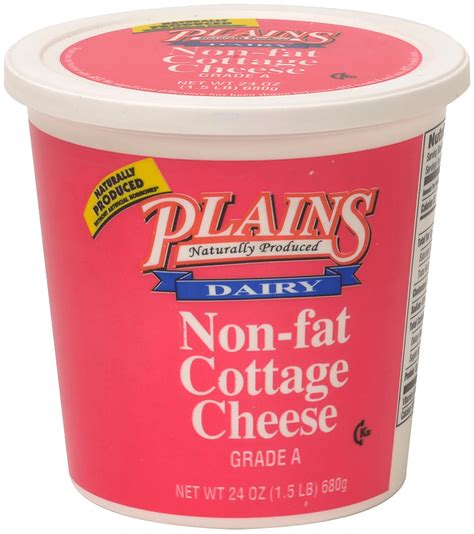 Non Cottage Cheese Nutrition Non Cottage Cheese Plains Dairyplains Dairy