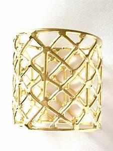 Gold Napkin Rings - Set of 12 - Emporium Bride