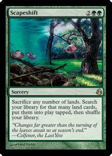 Land Deck Modern by 1000 Images About Scapeshift On Magic The