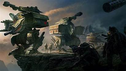 Mech Battle Wallpapers Spaceship Wallpapertag