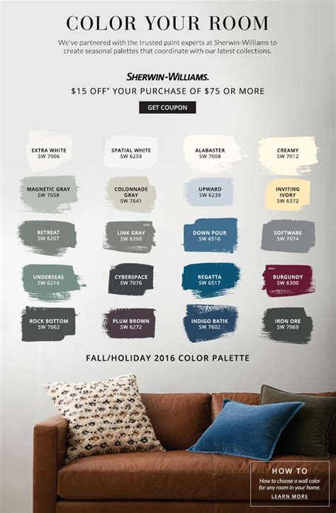 sherwin williams pottery barn colors best 25 pottery barn colors ideas on pottery