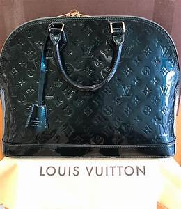 Louis Vuitton Leder : louis vuitton original alma mm vernis leder petrol ~ A.2002-acura-tl-radio.info Haus und Dekorationen