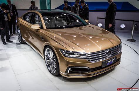 Shanghai 2015 Volkswagen C Coupe Gte Concept Gtspirit