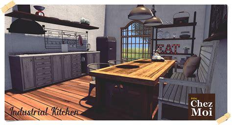 how to design kitchen industrial kitchen style chez moi chez moi k c r 4372