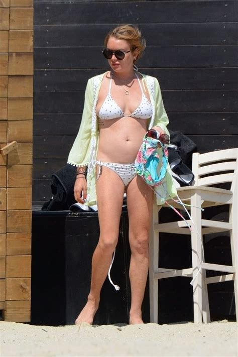calum scott swimsuit lindsay lohan changing from a swimsuit to a bikini at a