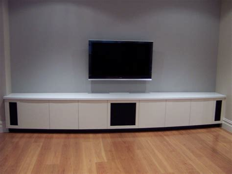 Home Theater Cabinets by Blue Gum Joinery Pty Ltd Modern Design