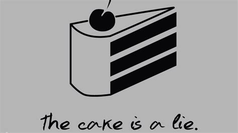 The Cake Is A Lie Meme - the cake is a lie know your meme