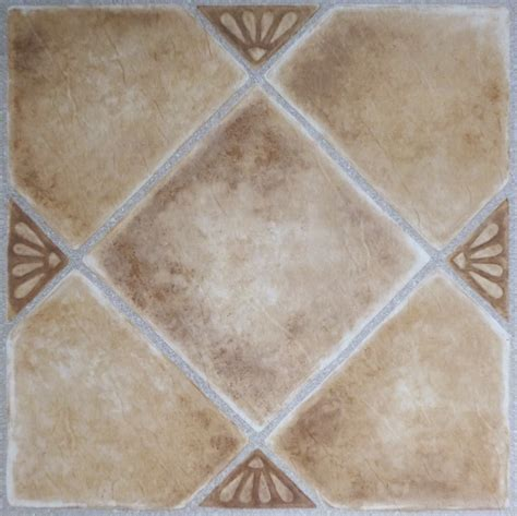 Achim Tivoli Beige Clay Diamond with Accents 12x12 Self
