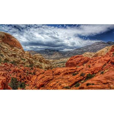 Red Rock Canyon National Conservation Area - in