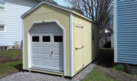 Garage Storage Shed by Mini Garage Sheds 187 Country Sheds