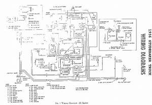 Electrical Wiring Diagram For 1956 Studebaker Truck  59698
