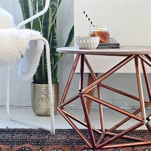 Table Basse Cuivre Rose : quelle toile d co dans une ambiance cuivr e blog izoa ~ Melissatoandfro.com Idées de Décoration