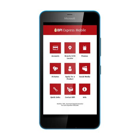 Banking Mobile by Bpi Introduces Mobile Banking App For Windows Upgrade