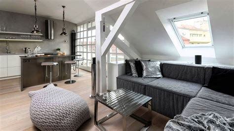 Beautiful Attic Apartment With Clever Design Features : Small Attic Apartment Ideas