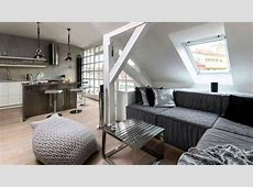 Small Attic Apartment Ideas YouTube