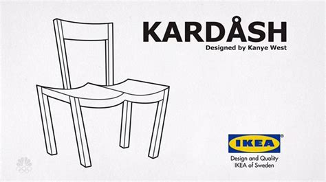 Ikea Furniture Meme - ikea trolls kanye west and now everyone is trolling him with fake product designs bored panda