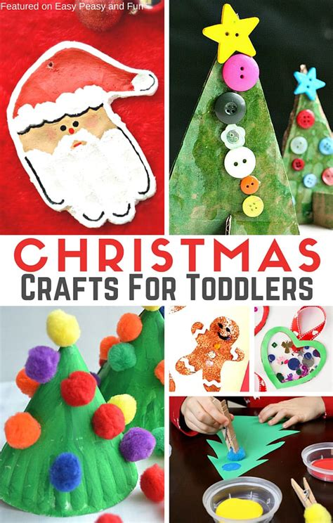 christmas art for preschool simple crafts for toddlers easy peasy and 190