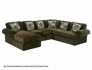 Bradley jerome39s furniture for the home beaumont for Sectional sofa jeromes
