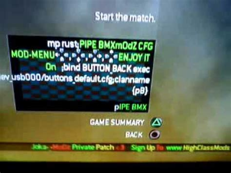 Mod menu telecharger pour mw2 ps3