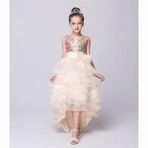 enfant cocktail robe longue de mariage robe de With robe de cocktail enfant