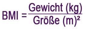 Bmi Formel Berechnen : gr e und gewicht ~ Themetempest.com Abrechnung