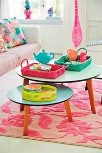 Table Basse Rose : 57 id es en photos o trouver votre petite table d 39 appoint ~ Teatrodelosmanantiales.com Idées de Décoration