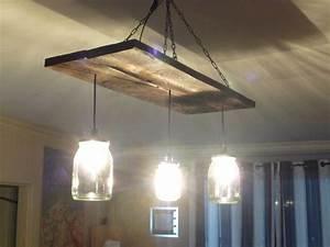 Luminaire Fait Maison : luminaire suspendu bois recherche google light ~ Melissatoandfro.com Idées de Décoration