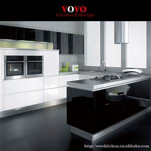 White And Black Complete Kitchen Cabinet Sets - Buy ...