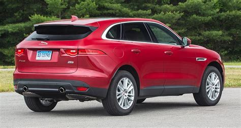 2017 Jaguar F-pace Suv Proves Luxurious And Sporty
