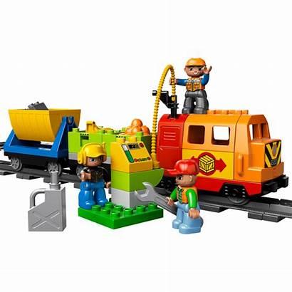 Duplo Lego Train Deluxe Crane Tunnel Brick