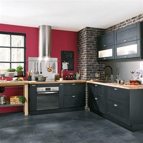 cuisine grise conforama cuisine noir laqué conforama cuisine idées de