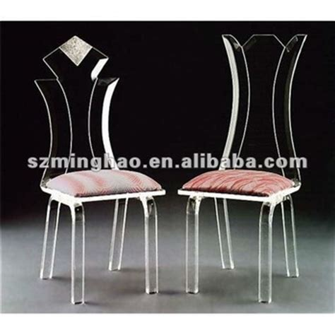 acrylic desk chair with cushion acrylic chair with cushion buy acrylic dining chair