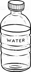 water bottle clipart black and white 5 | Clipart Station