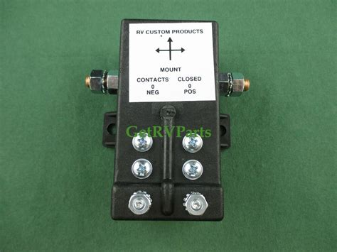 rv custom products 1002 motorhome battery latching relay disconnect ebay