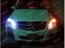 Mercedes GLK350 with Xenon White LED Eyelids and LED