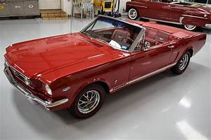 1966 Mustang GT Convertible Candy Apple Red - For Sale - MyRod.com