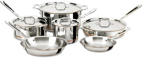 5827 copper luxury cookware all clad copper cookware review worth the price