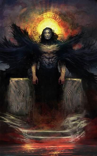 Lucifer Artwork Artstation Dimitar Ivanov Designs