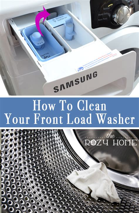 how to clean a front load washer hometalk how to clean your front load washer