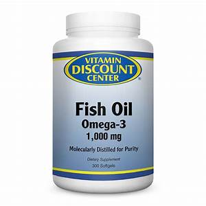 Omega 3 Fish Oil 1000mg By Vitamin Discount Center