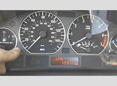 BMW E46 Oil Inspection Service Light Reset 1999 and Newer