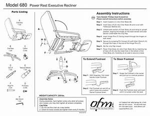 Ofm Model 680 Ergonomic High